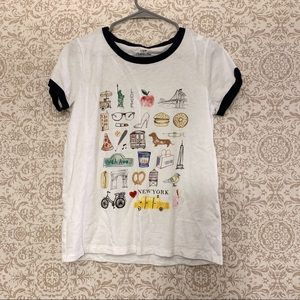 J crew factory New York city graphic T-shirt